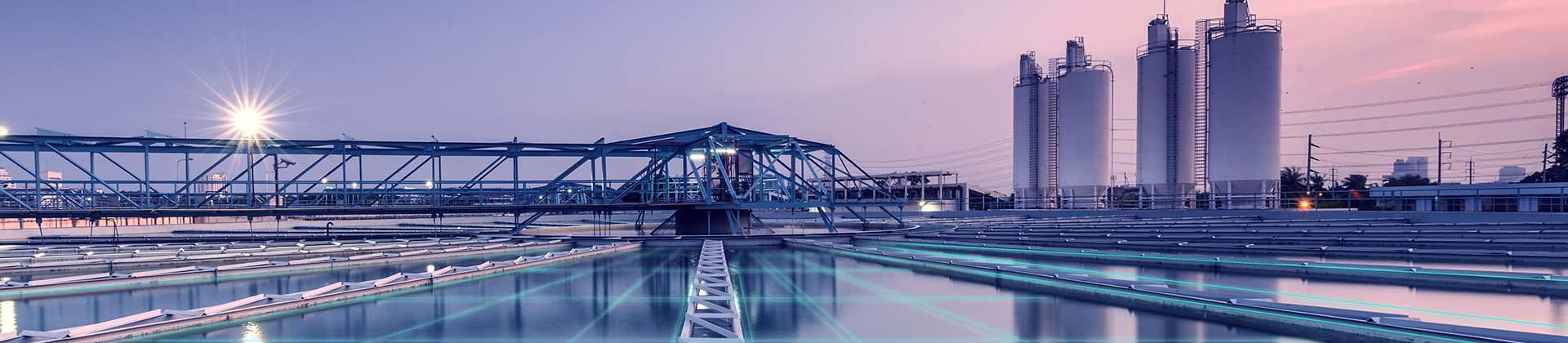 Predictive control to improve wastewater treatment processes