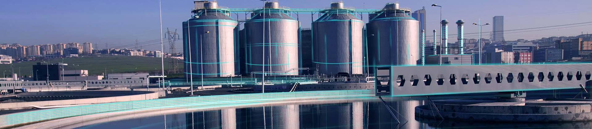 wastewater treatment plant, sludge treatment
